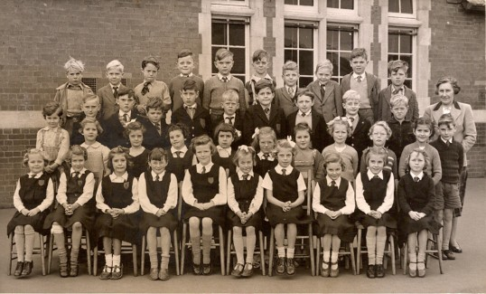 School photograph, Ramsey County Primary School.
