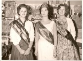 Ramsey Trades Fair Princess, Lilian Blench, with her Campanions of Honour.