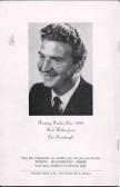 Peter Adamson's (Len Fairclough from Coronation Street ) photograph from the Ramsey Trades Fair programme.