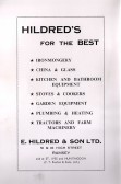 Advertisment for Hildren's from Ramsey Trades Fair programme.