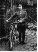 "John ""Jack"" Hales son of James & Mary Hales of Wistow, member of the Huntingdonshire Cyclist Batallion. He served in Gallipoli, Turkey & France."