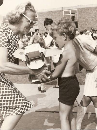 Ramsey Carnival - At the Ailwyn School.Stewart Owen won the Bonnie Laddie competition