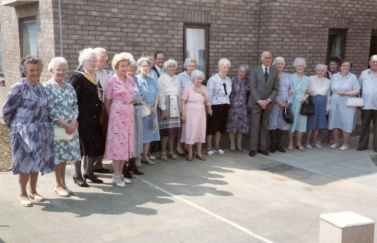 The opening of Mill House, Great Whyte, Ramsey in May 1989.