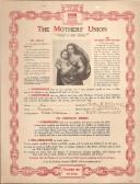 Membership Cerificate of The Mothers' Union of Clara Richards (nee Edwards) wife of Arthur Edwards
