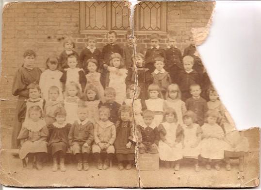 Group photograph Ramsey Infants School