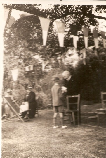 Baptist Church Garden Party, Mr.John Nobel (aged 97).