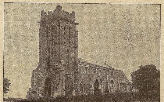 Church of the Holy Cross, Bury