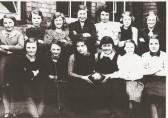 Ramsey St Maary's School netball team