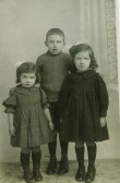 Hilda Greenwood, Tom Greenwood and Doris Greenwood of Ramsey.
