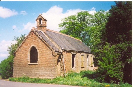 St. Benet's Church, Ramsey Hollow built in 1877 on land given by Mr. Caton and funded by Edwards Fellowes.