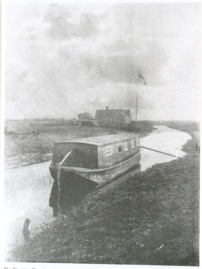 The Floating Church at her moorings at Stokes' Yard, 1897