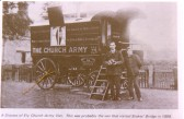 A DIocese of Ely Church Army Van.  This was probably the van that visited Stokes' Bridge in 1898.