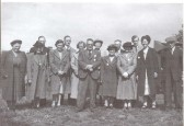 Ramsey Forty Foot Old Village Hall Committee -taken in the early 1950's.