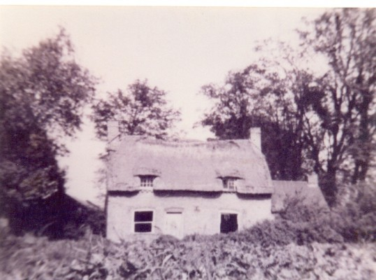 Broadalls Cottage, Ramsey Forty Foot - The Home of Mary-Ann (nee Richards) and John Fountain c 1900.
