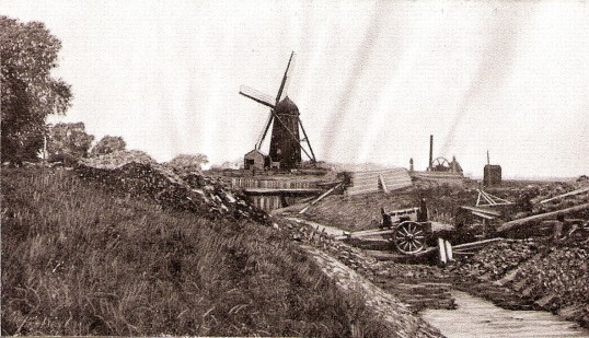 Black Mill, Ramsey Fortyfoot, Last Surviving water mill in the area, situated about 2 miles from Wells Bridge.Derelict in 1942.