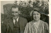 Horace Chamberlain and Rosa Chamberlain (nee Crouch), Oak Farm, Ramsey Hollow