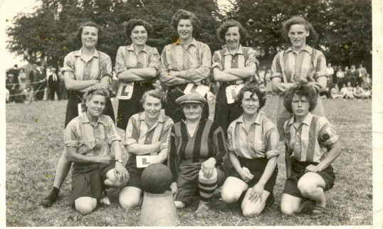 Tick Fen Ladies team.
