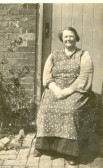 Annie Edwards (nee Cook) who lived at Harper's Drove, Ramsey Heights.
