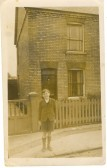 Clarence Edwards, aged 10, at 7 Field Road, Ramsey