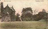 The Vicarage, Ramsey.  Taken from a postcard sent in Ramsey postmarked 6.30pm 19 june 1909