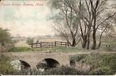 Splash Bridge, Ramsey. Taken from a postcard postmarked Ramsey 14 Nov 1906