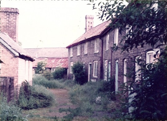 Street off Little Whyte, Ramsey before demolition and redevelopment