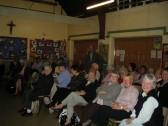 David Yardley making a Ramsey Archive Group presentation to Ramsey W.I.