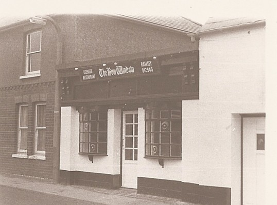 The Bow Window Restaurant, 8 High St, Ramsey. Previous occupants