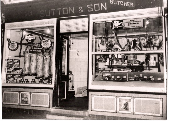 Sutton & Son Butchers shop, 15 Great Whyte, Ramsey.Now Pices Takeaway.