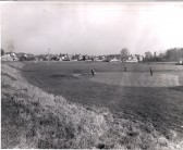 Ramsey Golf Club, 5th green shortly after opening.