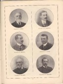 G Rowell, C R Simpson, W Simpson, S G Berry, W Wilson, A W Swearer, from Huntingdonshire Coronation Souvenir