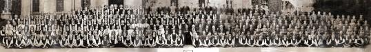 Ramsey Abbey Grammer School photograph.