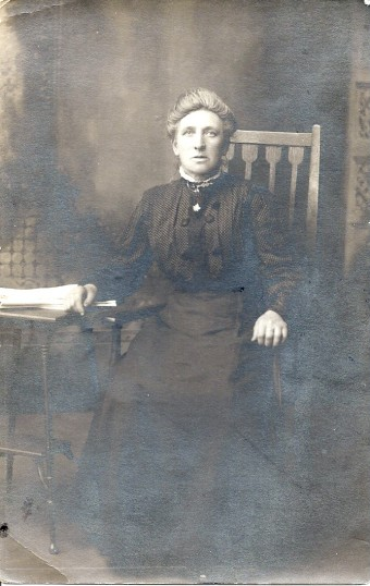 Mrs Mahala Richardson (nee Wyles of Gidding) of Stacey Yard, Ramsey and Ramsey Hollow