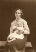 Mrs Mahala Wade (nee Richardson) & Herbert Wade of Ramsey
