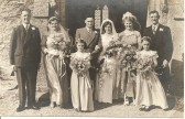Wedding of James (Jim) Kelly And Kathleen (Kath) Kelly (nee Baldwin) of Ramsey.
