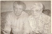 Mavis Marriott (nee Papworth) from Ramsey Mereside with her husband Donald.(picture by permission of Peterborough Evening Telegraph)