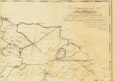 Part of map of Isle of Ely showing Ramsey and Whittlesey Mere