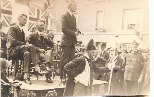 Ramsey Carnival 1926.Courtesy Ramsey Rural Museum