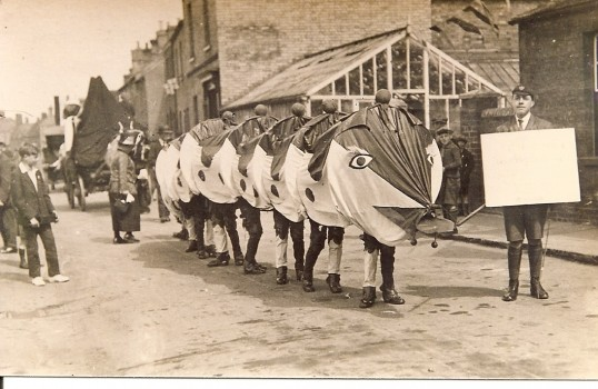 Ramsey Carnival 1926.Courtesy Ramsey Rural Museum