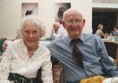 Rev Henry Butler and wife Elizabethfrom Ramsey Fortyfoot on the occasion of thier 60th wedding aniversary.