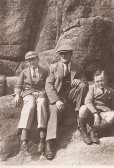 Henry, Syney and Richard Butler of Gazeley House, Ramsey FortyFoot.
