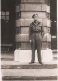 Richard Butler of Gazeley House Ramsey FortyFoot in the Medical Corps.