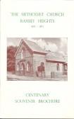 Cenenary Brochure Ramsey Heights Methodist Church.