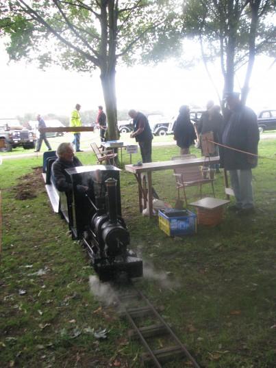 Minature Train at Ramsey Rural Museum Country Fair