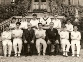 Ramsey Abbey Grammer School cricket team