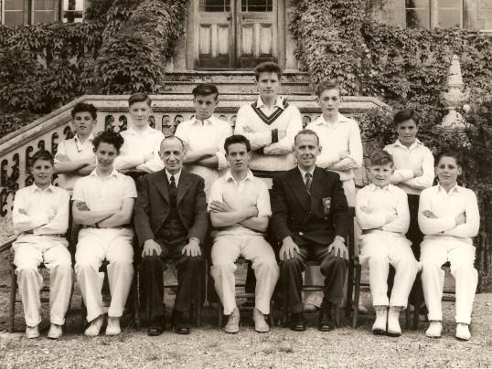Ramsey Abbey Grammer School cricket team