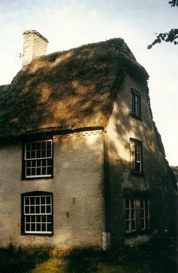 'Julians' Bury before renovation. Courtesy P Walker. 'Julians' Owls End Bury