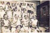 Helpers at the celebrations of the Coronation of King George VI & Queen Elizabeth, Ramsey Fortyfoot and the Hollow