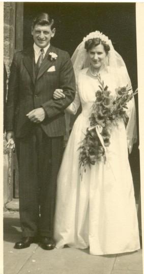 The wedding of Peter Chamberlain & Edith Chatfield