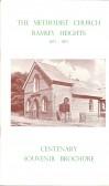 The Methodist church Ramsey Heights 1871 - 1971 Centenary Souvenir Brochure.